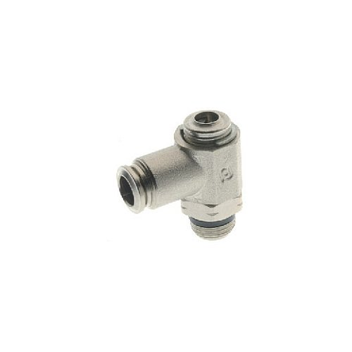 Metallic Release Collet 8 mm Tube x 3//8 Swift-Fit Universal Thread 8 mm Tube x 3//8 Swift-Fit Universal Thread AIGNEP USA 57920-8-3//8 Push-In Fittings Screw Adjustment Needle Valve