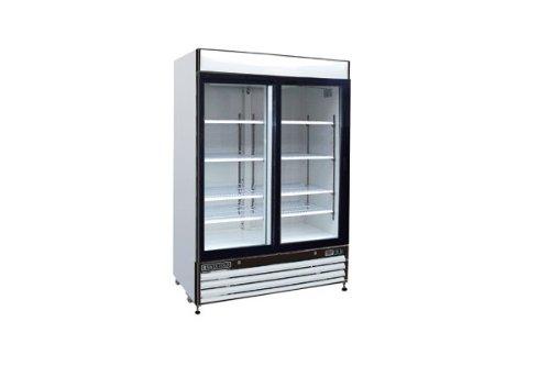 Maxximum 48 Cft Double Glass Door Merchandiser Freezer Mxm2-