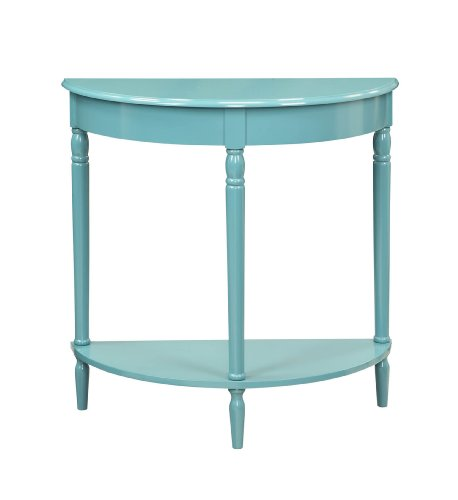 Country Dining Table - Convenience Concepts French Country Entryway Table, Blue