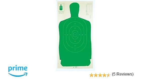 100 Pack Champion B27FSA Vert Silhouette Target 40732