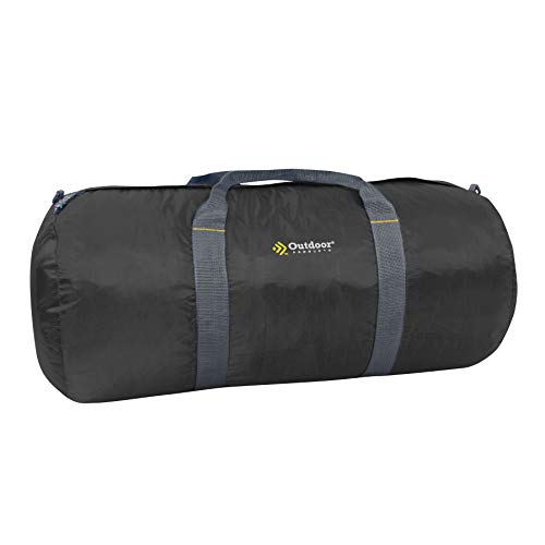 Outdoor Products Deluxe Duffle, Large, - Black Cordura Duffle
