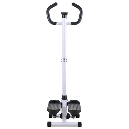BestMassage Aerobic Fitness Adjustable Twister Stepper with With Rope, Healthy Fitness Mini Stepper - Stepper Body Mini