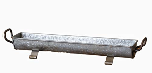 (Your Heart's Delight Your Galvanized Footed Tray, Multi)