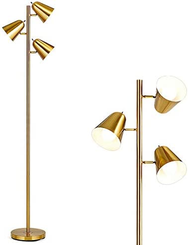 Tangkula 3-Light Floor Lamp