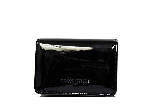 Sandro Ferrone Tasche Farbe mit eingelegtem A2 ASTERIX AI17 schwarz und gold