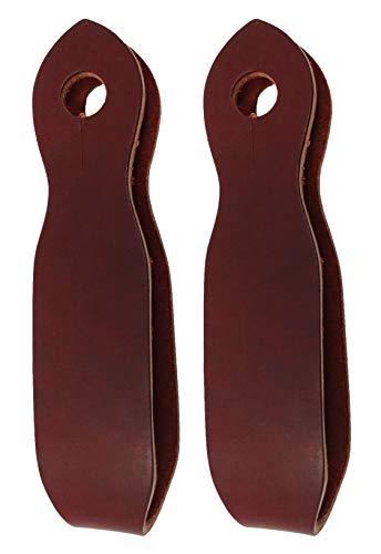Amish USA Horse Tack Latigo Leather Slobber Straps 975L2005