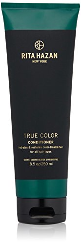 Rita Hazan- True Color Conditioner For Color Treated Hair- Hydrates Without Weighing Hair Down, 8.5oz