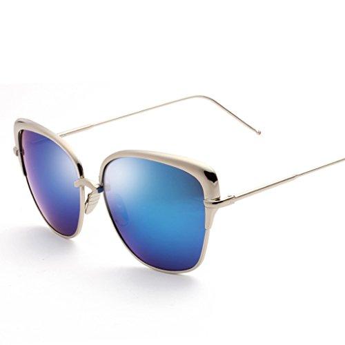 sol Color amp; Personality Sunglasses 2 Mirror de sol Gafas amp;Gafas Fashion 4 Driver Gafas protecciónn de Driving Lady de SfaS7wqg