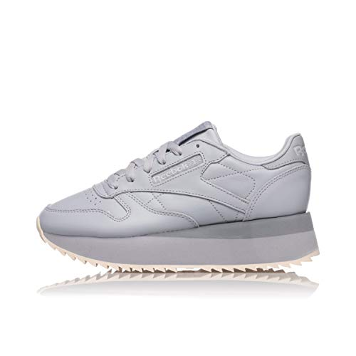 Grey Reebok Cool Cold Shadow Pale Dv3626 Double Womens Leather Pink Classic wqxnrYqU4