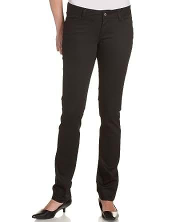 Dickies Girl Junior's Classic 5 Pocket Skinny Pant, Black, 0
