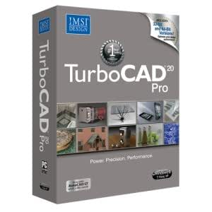 turbocad pro 20 professional 2d 3d cad software software. Black Bedroom Furniture Sets. Home Design Ideas