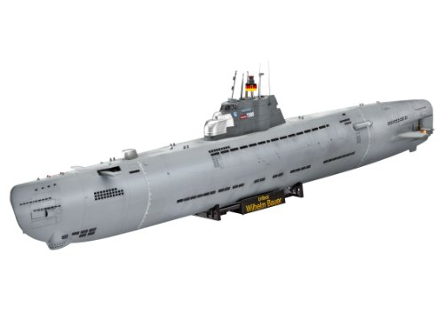 144 U-Boat Wilhelm Bauer Plastic Model Kit ()