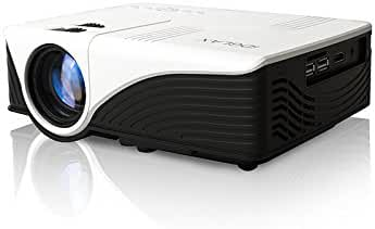 iDGLAX iDG-787W LCD LED Video Multimedia Mini Portable Projector with Free HDMI cable for Home Theater Movie Nights and Video Games (HD Ready)