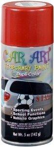 Dupli-color Red Temporary Car Art Spray Paint