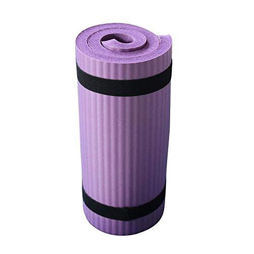 SKDFFAS Yoga mats Yoga Mat 15mm Thickening Yoga Fitness Non-Slip Support Yoga Gym Exercise Sport Mats Knee Pad