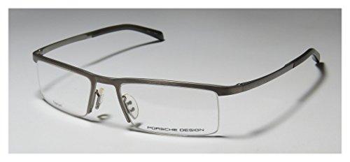 Porsche Designs Eyeglasses P8129 B Titanium Matte Demo 53 18 135