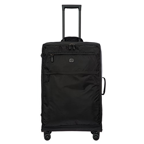 Bric's X-Bag/x-Travel 2.0 Ultralight 30 inch Large Spinner with Frame, Black/Black by Bric's