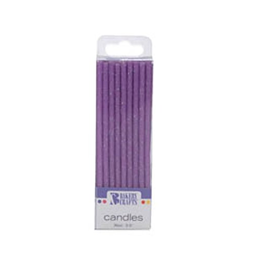 3.5-Inch Oasis Supply Stripe Birthday Candles
