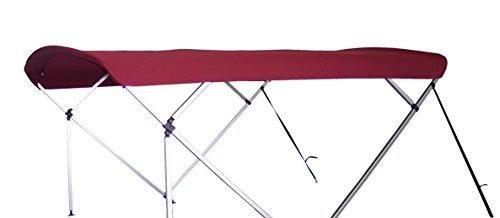- NorthStar Pontoon Bimini Top - Replacement - 8x8 (Burgundy)