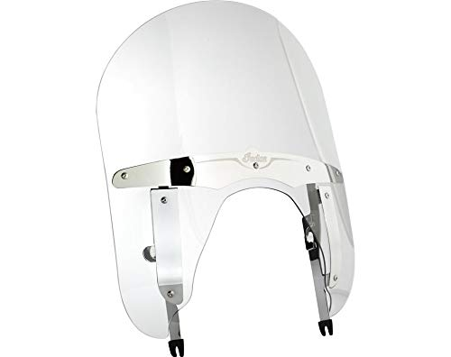 Indian Motorcycle Chief Mid Height Clear Quick Release Windshield