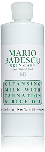 Mario Badescu Cleansing Milk with Carnation & Rice Oil, 16 oz.