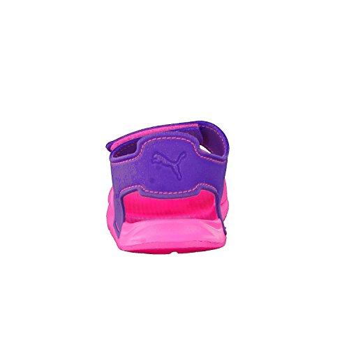 Puma Unisex-Kinder Wild Sandal Injex Inf Low-Top Knockout Pink-Electric Purple
