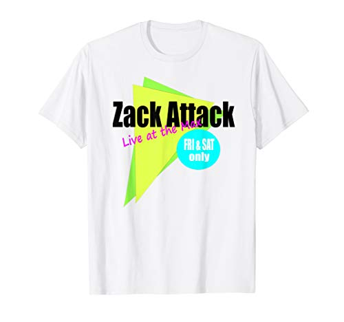 Zack Attack Live at the Max T-shirt