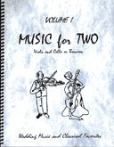 Music Arioso Wedding (Music for Two, Volume 1 for Viola and Cello or Bassoon)