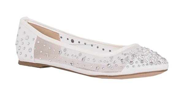 Lauren Lorraine Barbie Ballet Flat(Women's) -Silver Fabric