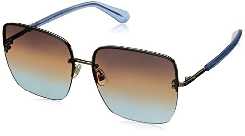 - Kate Spade Women's Janay/s Rimless Sunglasses, BLUE, 61 mm