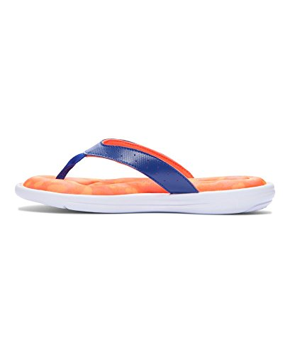 Girls' Armour Ua Burn White Cobalt Marbella Sandals Under After qFagnfH7