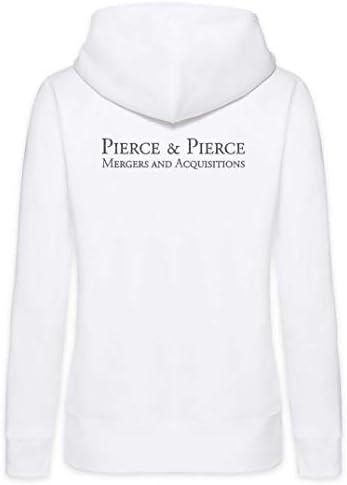 Urban Backwoods Pierce & Pierce Femme Zip Hoodie Sweat à Capuche
