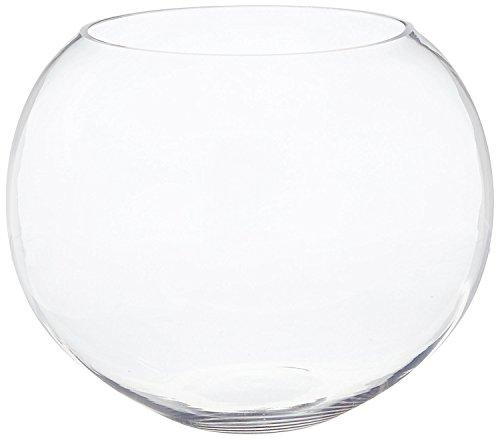 CYS Brand Large Glass Bubble Bowl. H-14