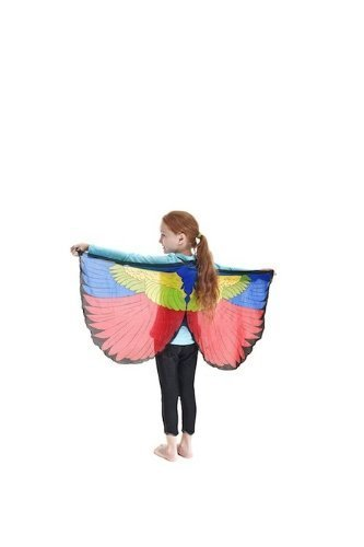 Cuddle Bunting - Dreamy Dress-Ups Painted Bunting Bird Wings by Douglas Cuddle Toy