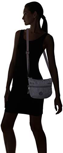 A Tracolla Kipling Denim Donna Arto Borse Blu S active tq6wSf7p6