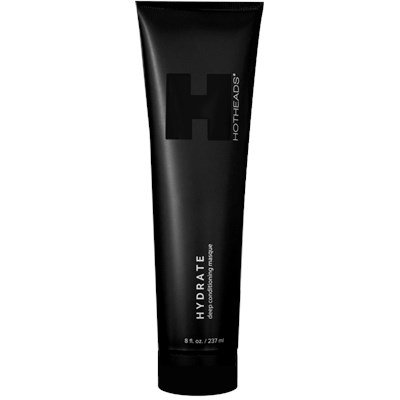 HOTHEADS Hydrate Deep Conditioning Masque 8 oz (Protects hair and extends the life of Hair Extensions. Sulfate & Paraben-Free)