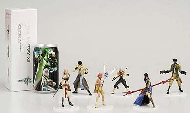 Final Fantasy XIII Potion Elixer (with Trading Arts Mini Figure) - Final Fantasy Trading Arts