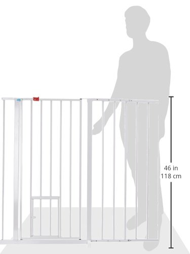 Carlson Maxi Extra Tall Pet Gate Expands 51 59 Inches