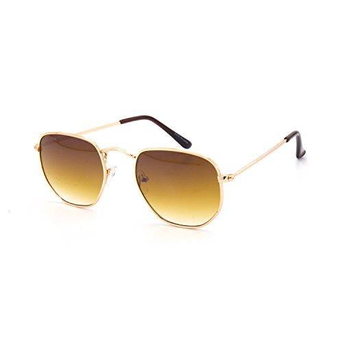 Jgny - 14k Gold High Fashion Designer Devon Sunglasses UV - Less Sunglasses Designer For Mens