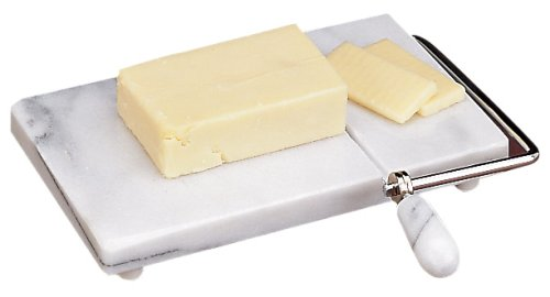 Fox Run 3841 Marble Cheese Slicer, White