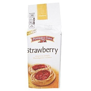 (Pepperidge Farm Verona Strawberry Cookies, 6.75-ounce bag (pack of 6))