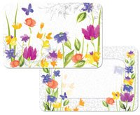 Heritage Flowers Butterflies Reversible Placemats product image
