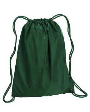 Liberty Bags Large Drawstring Backpack OS FOREST