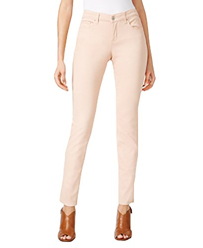 - Style Co Curvy-Fit Skinny Jeans (Natural Blush, 12)