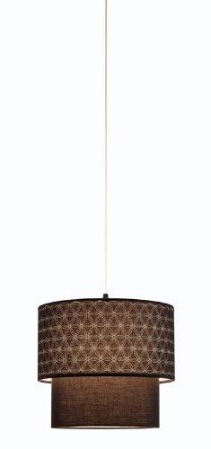 Adesso 3028-01 Gala Pendant Lamp, Black