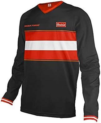 Uglyfrog Jersey Colour Blanco y Negro Camiseta MX DH Caza Enduro Quad, Racewear Motocross Enduro Downhill Camiseta, Todo el año, Color, tamaño ESMOTO01: Amazon.es: Deportes y aire libre
