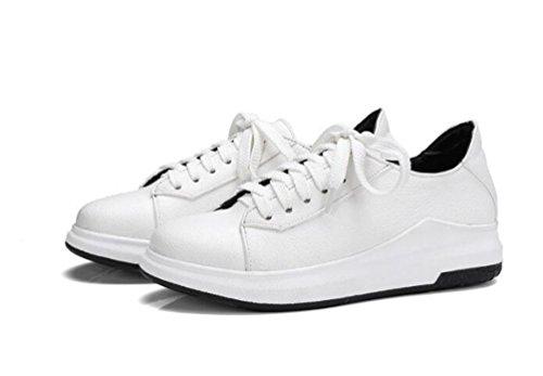 a formato di White forma OL il 43 EU piega casuali 33 Flat semplice atletica semplici personalizzato piede Sandali xqwSI14