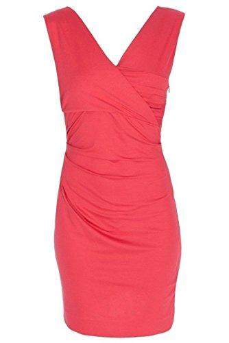 (Diane von Furstenberg Women's Parker Dress, Red Currant, Large)