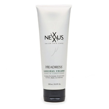 NEXXUS Headress Luscious Volume Leave-In Conditioner, 8.5 Fluid Ounce (Pack of 2)