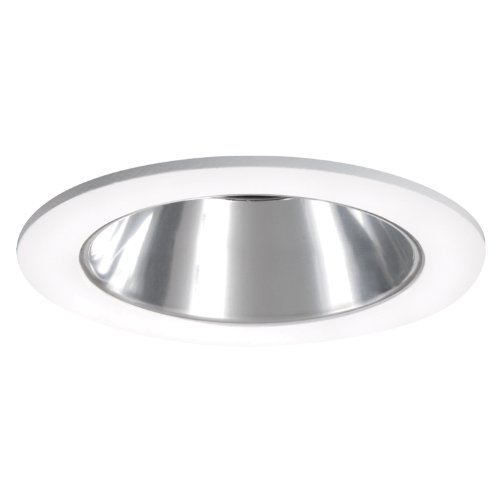 HALO Recessed 3004WHC 3-Inch 35-Degree Adjustable Trim with Clear Reflector, ()
